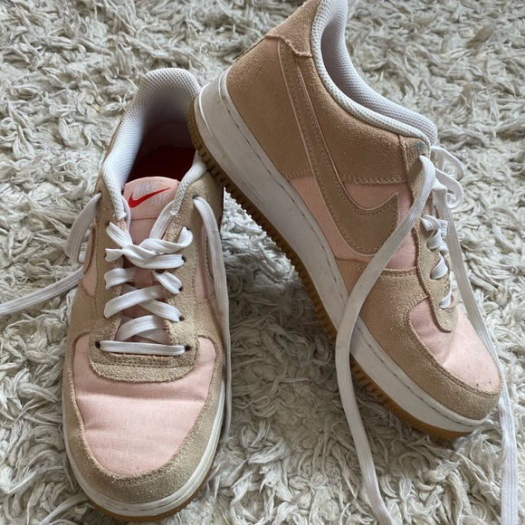 Nike Shoes | Nike Air Force Pink And